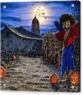 The Spooky Scarecrow Acrylic Print