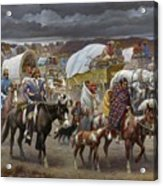 The Trail Of Tears Acrylic Print