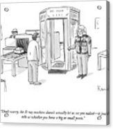 The X-ray Machine Acrylic Print