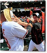 Tommy Hunter and Steve Pearce Acrylic Print