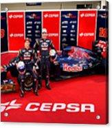 Toro Rosso F1 Launch Acrylic Print