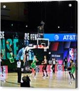Toronto Raptors v Boston Celtics - Game Three Acrylic Print