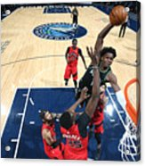Toronto Raptors v Minnesota Timberwolves Acrylic Print