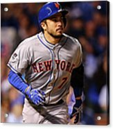Travis D'arnaud and Jason Hammel Acrylic Print