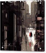 Twilight Avenue Acrylic Print