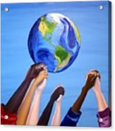 United We Stand Acrylic Print