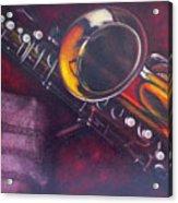 Unprotected Sax Acrylic Print