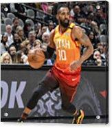 Utah Jazz v San Antonio Spurs Acrylic Print