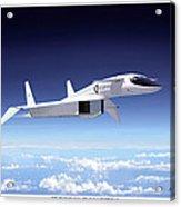 Valkyrie - Mach 3 At 70000 Feet Acrylic Print