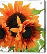 Vibrant Sunflower Spirits Acrylic Print