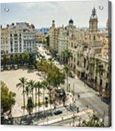 View of Valencia city Acrylic Print