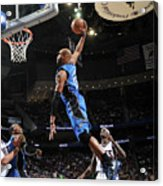 Vince Carter and Anthony Morrow Acrylic Print