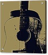 Vintage Guitar Acrylic Print
