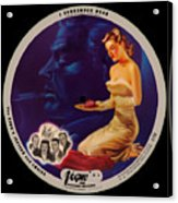 Vogue Record Art - R 708 - P 3 - Square Version Acrylic Print