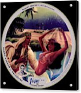 Vogue Record Art - R 774 - P 141 - Square Version Acrylic Print