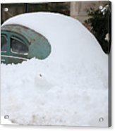 Washington, D.C. Area Continues To Dig Out From Historic Snow Storm Acrylic Print