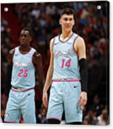 Washington Wizards v Miami Heat Acrylic Print