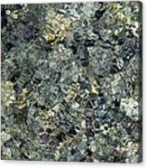 Water Rocks 1 Acrylic Print