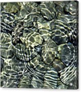 Water Rocks 2 Acrylic Print