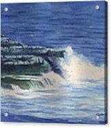 Wave splash Acrylic Print
