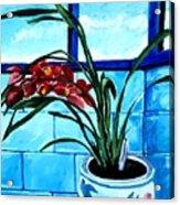 Welcome Flower Acrylic Print