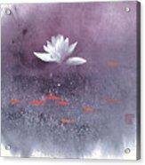 White Lotus III Acrylic Print