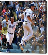 Will Smith And Russell Martin Acrylic Print