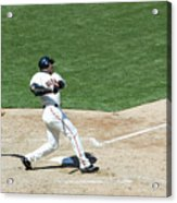 Willie Mays and Barry Bonds Acrylic Print