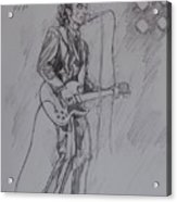 Willy DeVille - Steady Drivin' Man Acrylic Print