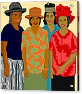 Women of the Church Acrylic Print