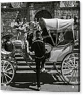 Wooden Carriage in Mexico Acrylic Print