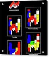 Anvendelser af X-faktor liebhavervilla i Hedensted DK til salg Acrylic Print