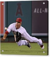 Yoenis Cespedes and Mike Trout Acrylic Print