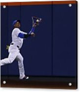 Yoenis Cespedes and Peter Bourjos Acrylic Print