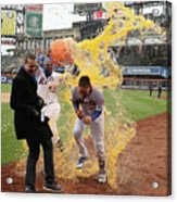 Yoenis Cespedes And Wilmer Flores Acrylic Print