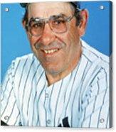 Yogi Berra Acrylic Print