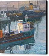 Lyttleton Nz Canvas Print by Terry Perham