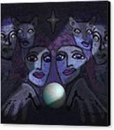 062 - Demons B Canvas Print
