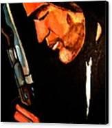 Antonio Banderas Canvas Print by Sidney Holmes