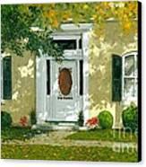 Autumn Sunlight Canvas Print by Michael Swanson