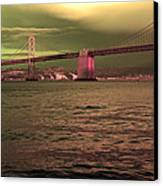 Bay Bridge, San Francisco Canvas Print