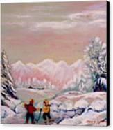 Beautiful Winter Fairytale Canvas Print