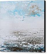 Blue Shore Rhythms And Textures 1 Canvas Print