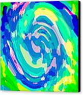 Bold And Colorful Phone Case Artwork Lovely Abstracts Carole Spandau Cbs Art Exclusives 134  Canvas Print by Carole Spandau