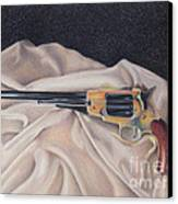 Buffalo Blackpowder Revolver  Canvas Print by Elizabeth Dobbs