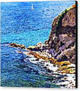 California Coastline  Canvas Print by David Lloyd Glover