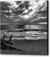 Colorless Sunset Canvas Print by Bob Jackson