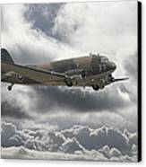 Dc3 Dakota   Workhorse Canvas Print by Pat Speirs