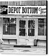 Depot Bottom Country Store Canvas Print by   Joe Beasley