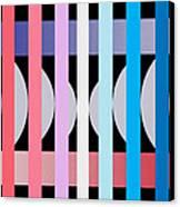 Fun Geometric  Canvas Print
